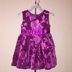 Toddler Girls George Holiday Formal Party Dress 2T